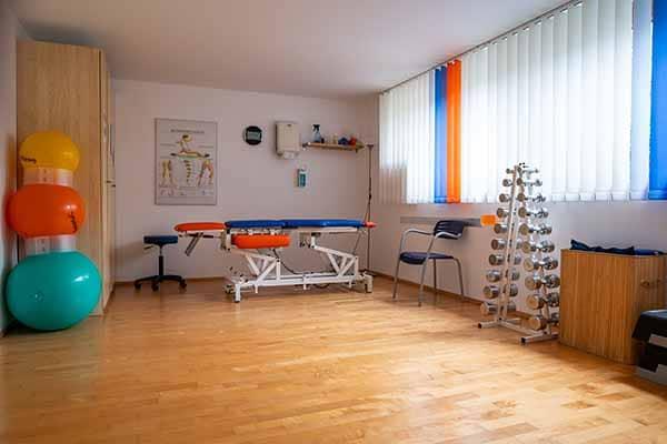 Behandlungszimmer 1 Physiotherapie Binningen