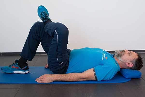 Dehnung Piriformis 3 Physiotherapie Binningen
