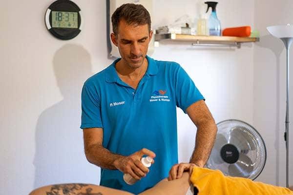 Dry Needling Philipp Moser Physiotherapie Binningen