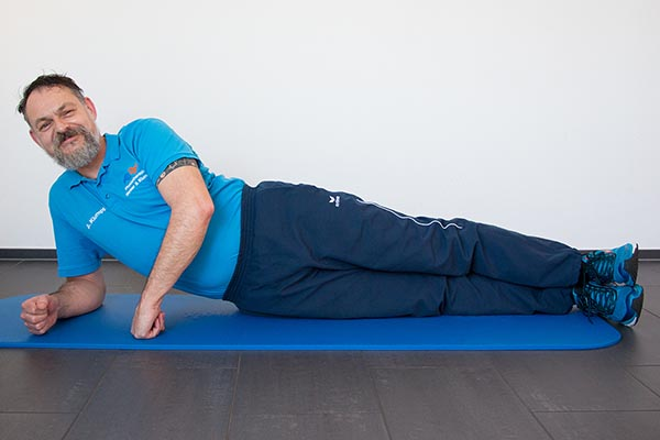 Side-Plank 2 Physiotherapie Binningen