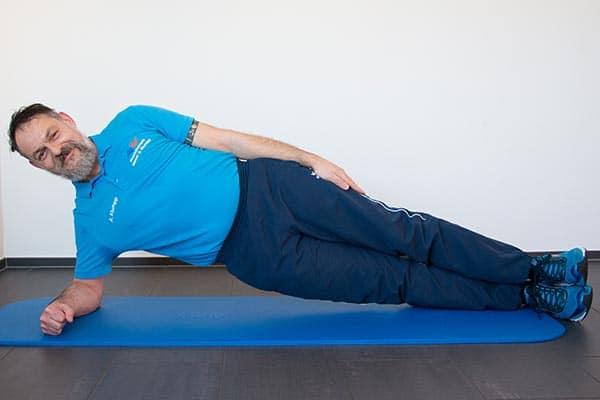 Side-Plank Physiotherapie Binningen