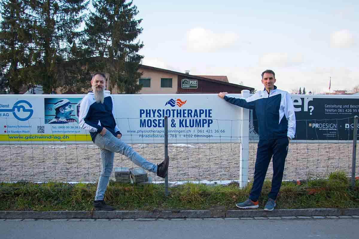 Sponsoring PSZ Physiotherapie Binningen
