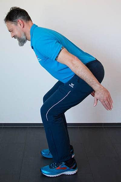 Squat Kniebeuge 2 Physiotherapie Binningen