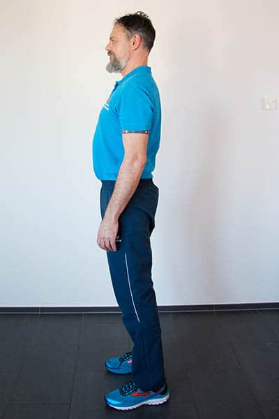 Squat Kniebeuge Physiotherapie Binningen