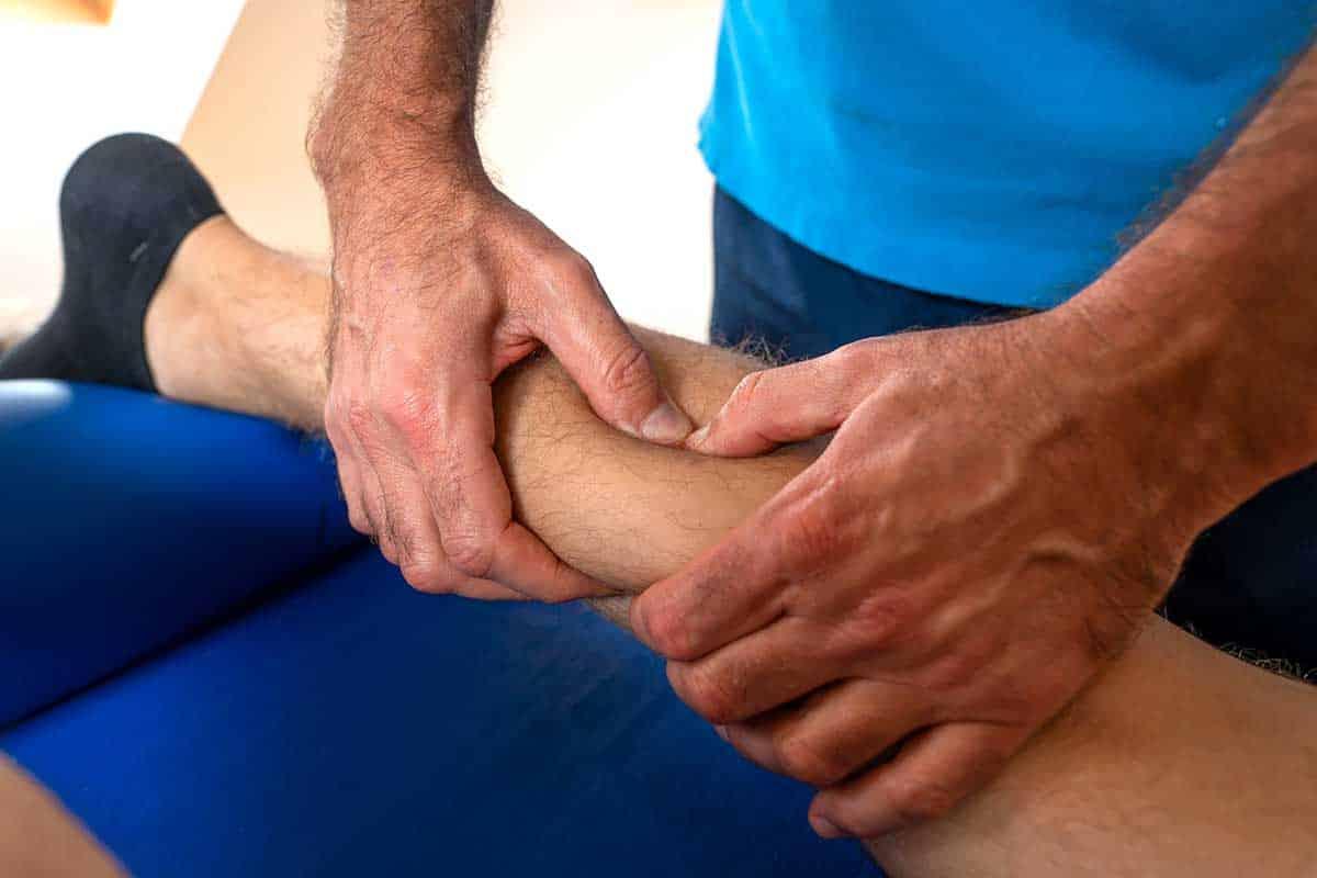 Triggerpunkt-Therapie m.gastrognemius Physiotherapie Binningen