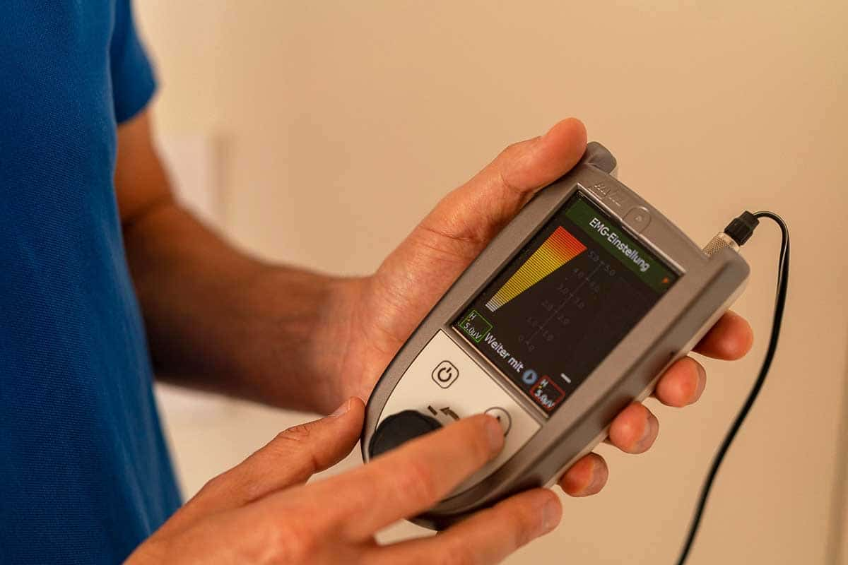 Beckenboden-Therapie Biofeedback Physiotherapie Binningen