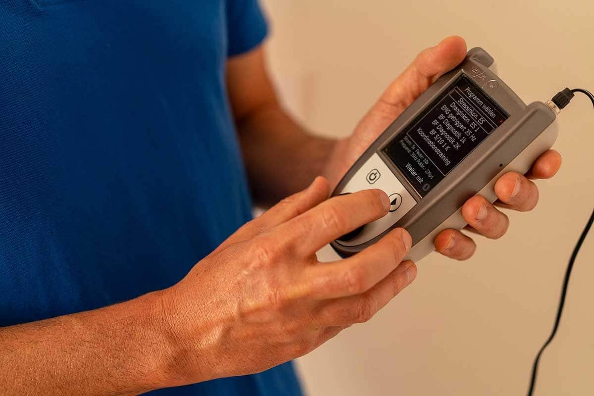 Beckenboden-Therapie Elektrostimulation Physiotherapie Binningen